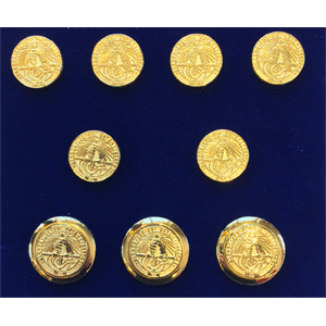 Image For Blazer Buttons 24K Gold