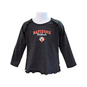 Image For Youth Girls Charcoal Shirt With Ruffles