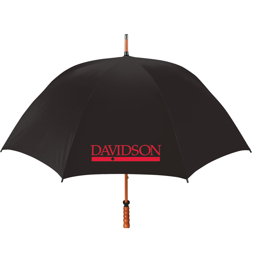 Image For Large Black Golf Umbrella With Bar Diamond