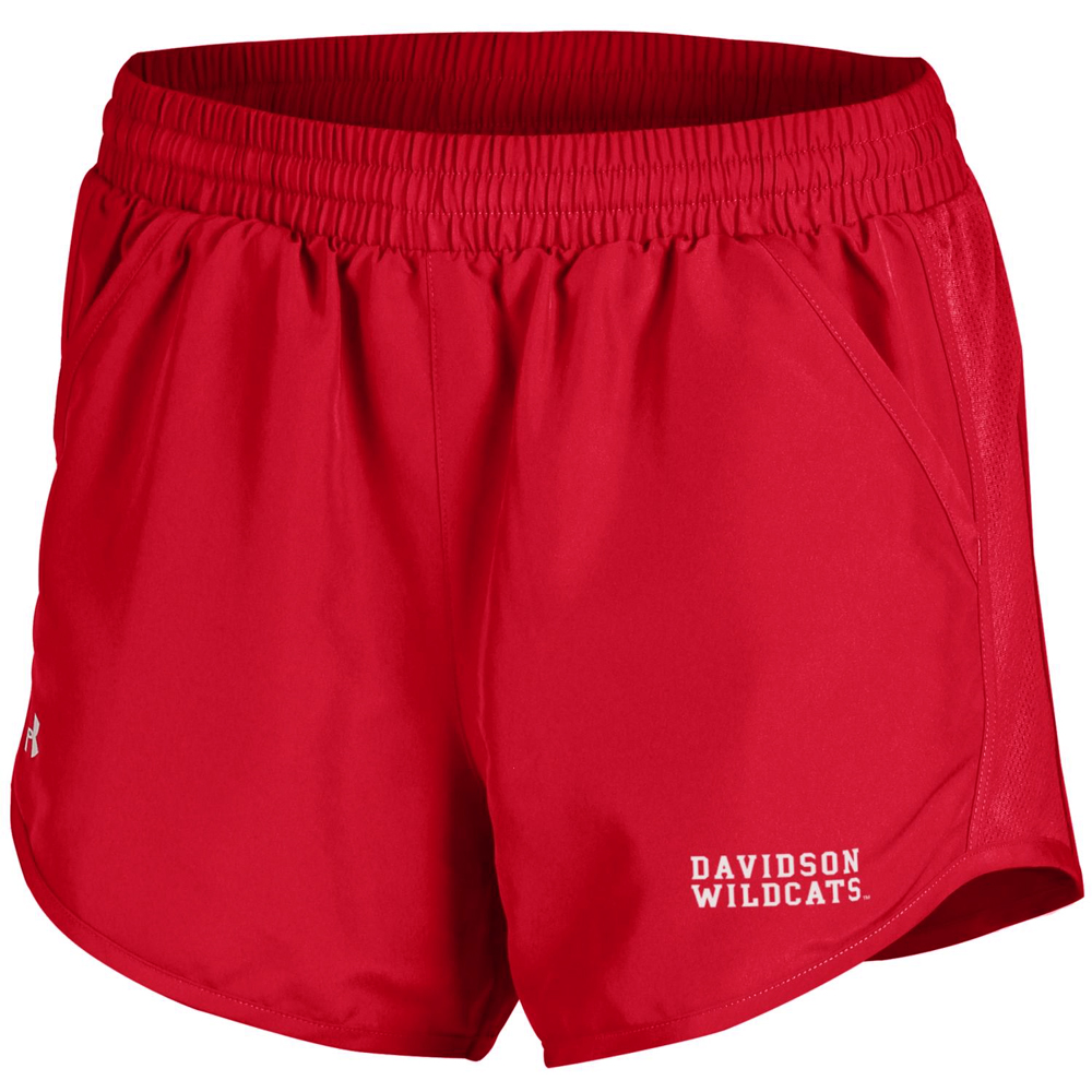 Image For Women's Shorts Run Red