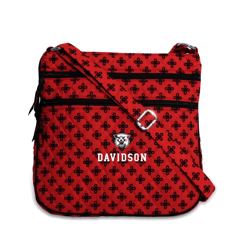Image For Davidson Triple Zip Hipster Bag