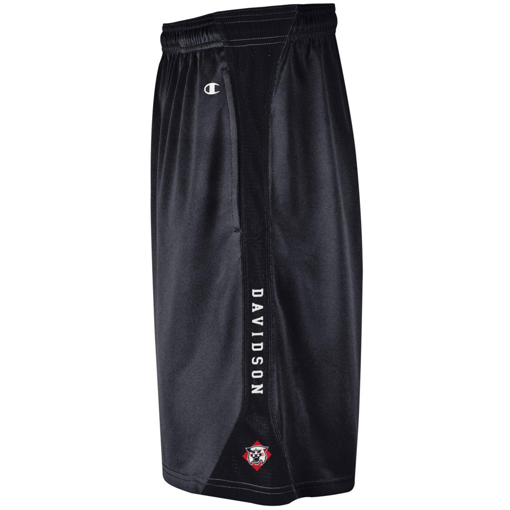 Image For Shorts Vistor - Black - Davidson-Wildcat