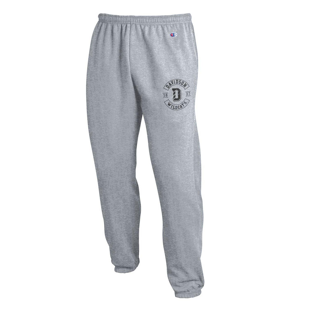 Image For Pants Fleece Heather Gray Banded Bottom