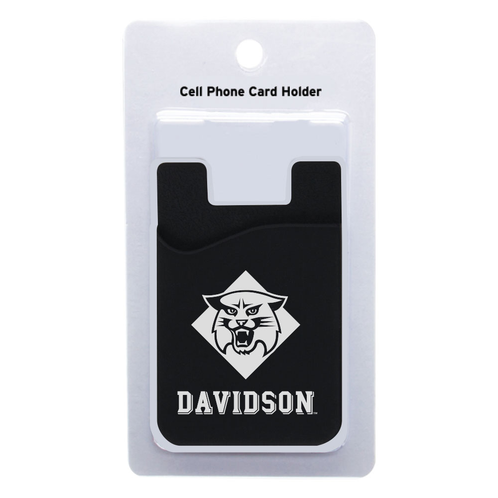 Image For Cell Phone Card Holder Black
