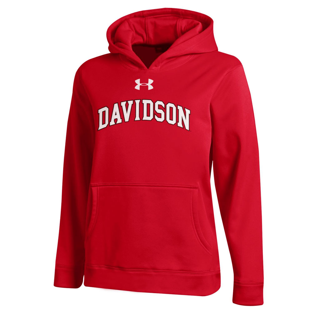Image For Youth Hood - Red - Davidson Arched
