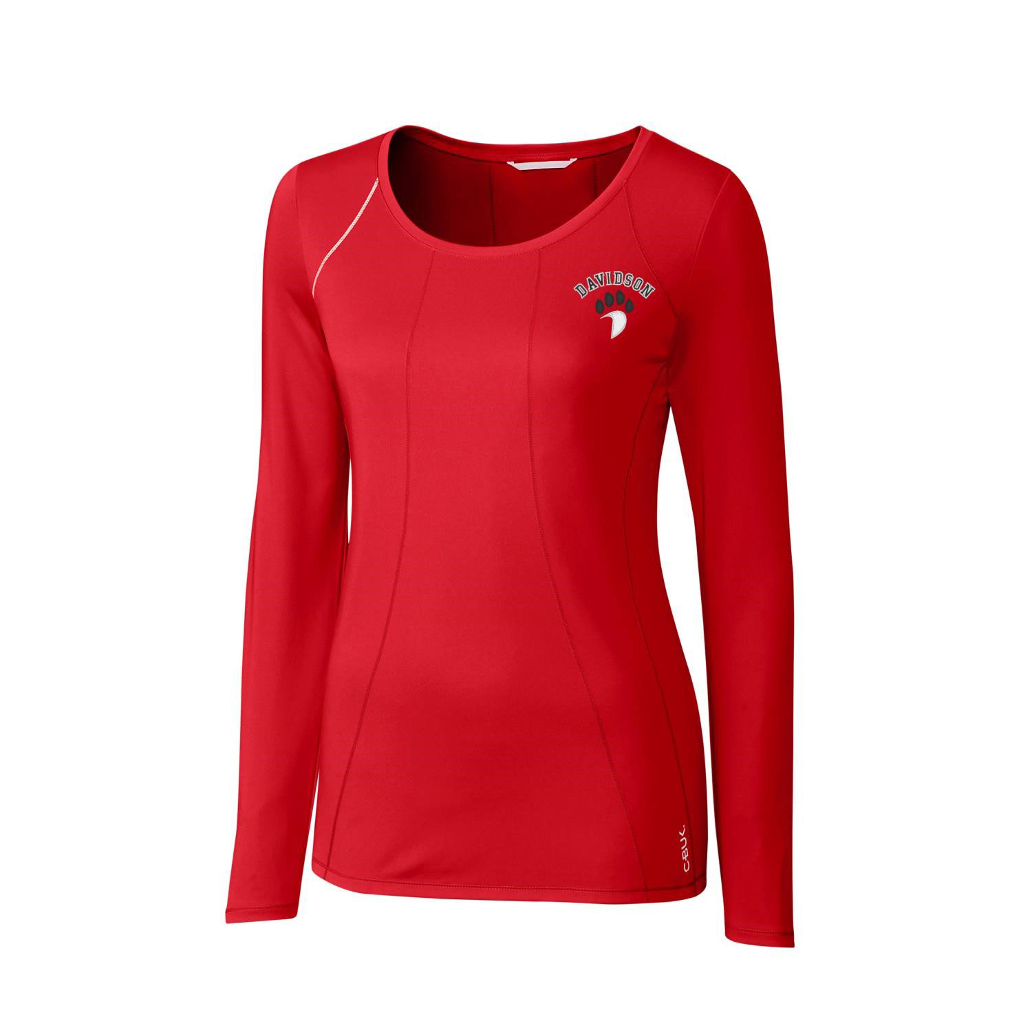 Image For Long Sleeve Red Tech Shirt