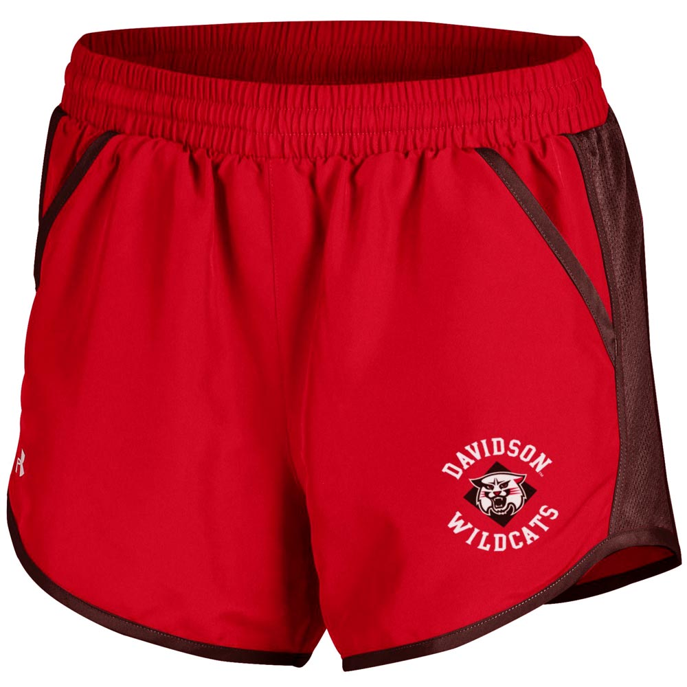 Image For Women's Shorts Red Fly By