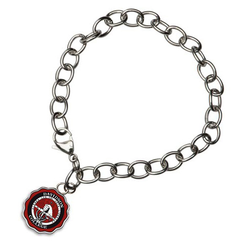 Image For Charm Bracelet With Full Color College Seal
