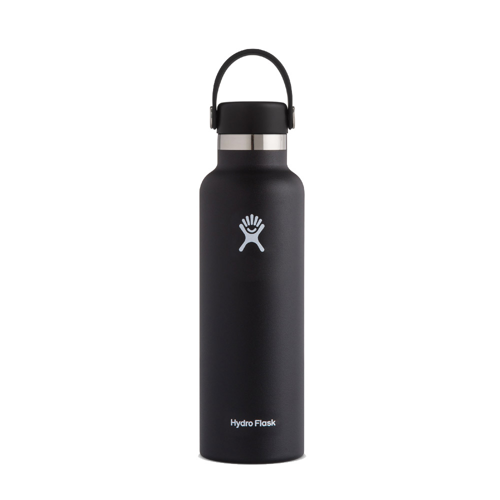 Image For Hydro Flask: 21 oz Standard Mouth - Black