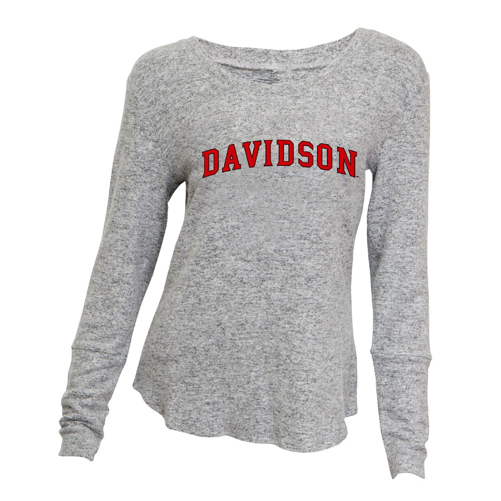 Image For Women's Long Sleeve Gray Reprise Shirt