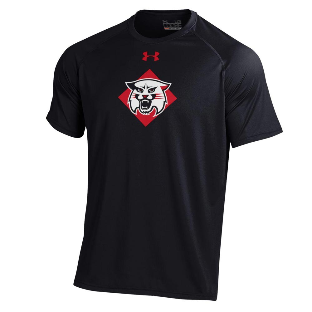 Image For Youth T Shirt - Black - Davidson Over Wildcat