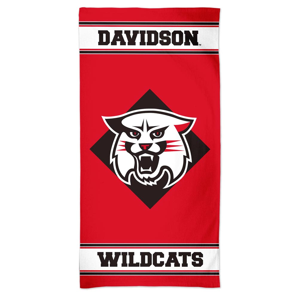 Image For Beach Towel-Wildcat Logo