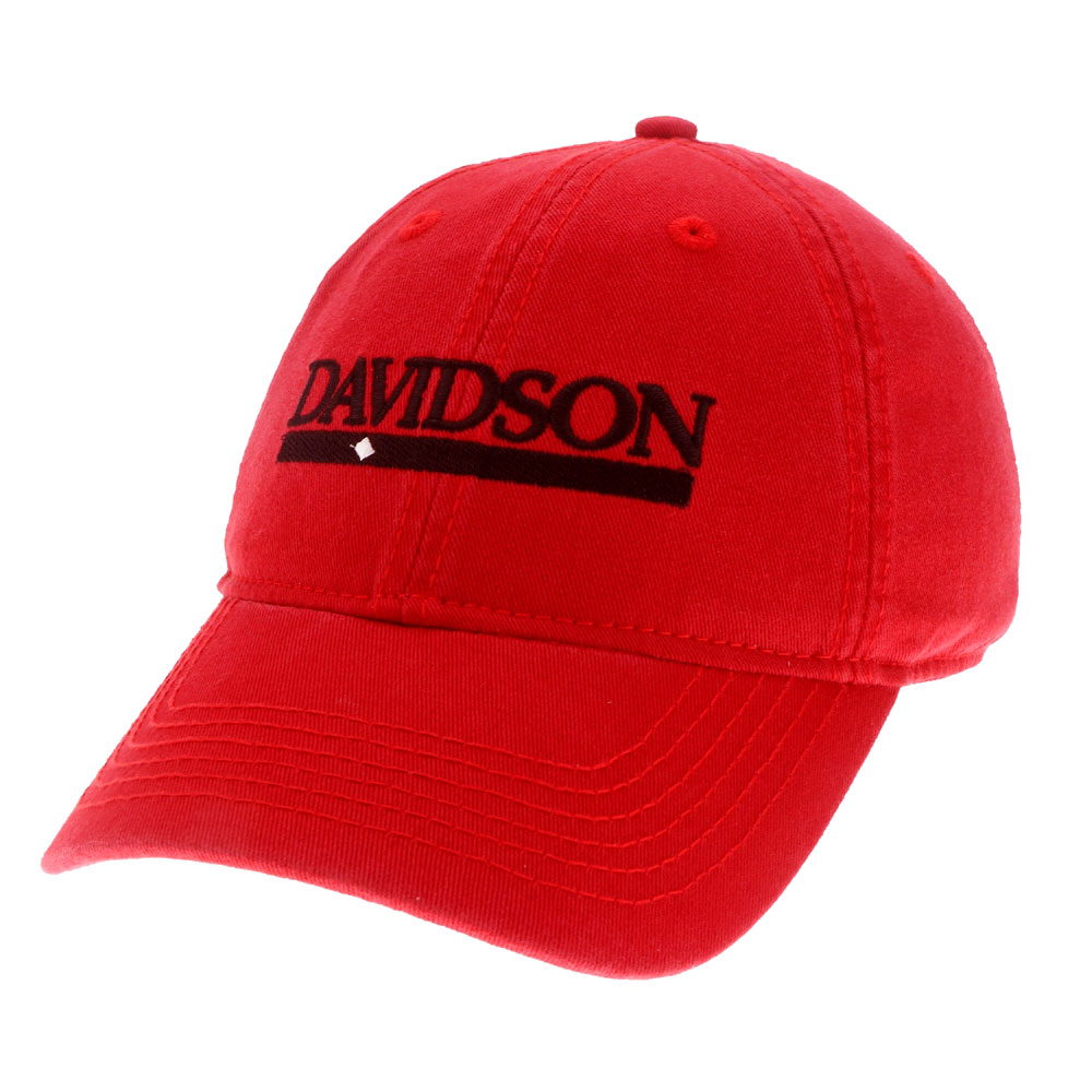 Image For Hat Davidson Bar Diamond Red