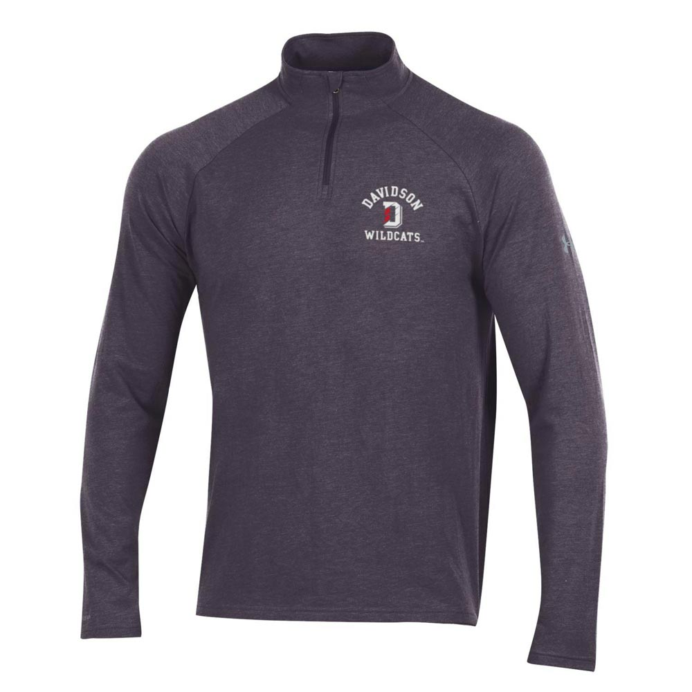 Image For Charged Cotton Carbon Heather 1/4 Zip