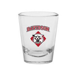 Image For Shot Glass-Davidson Over Wildcat