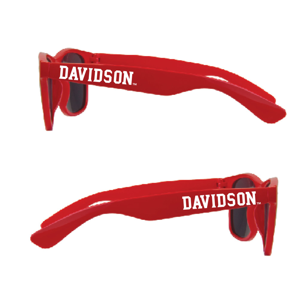 Image For Sunglasses - Red - Davidson Logo