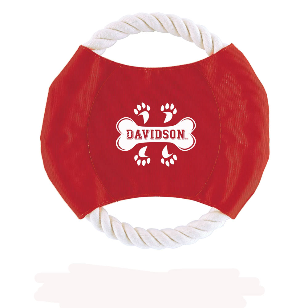 Image For Pet Red Disk Rope