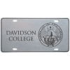 Cover Image for Pewter License Plate - Davidson College Seal