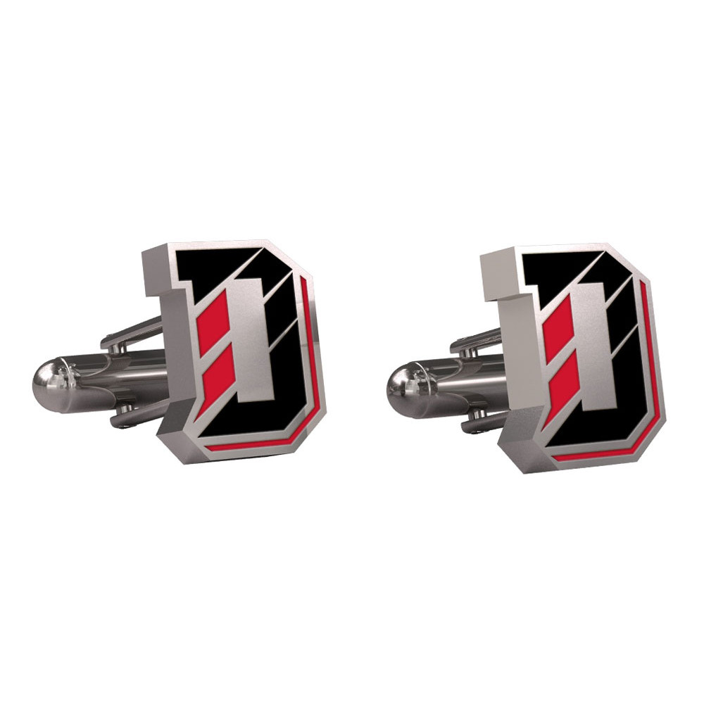 Image For Cufflinks - Stainless Steel - D Logo