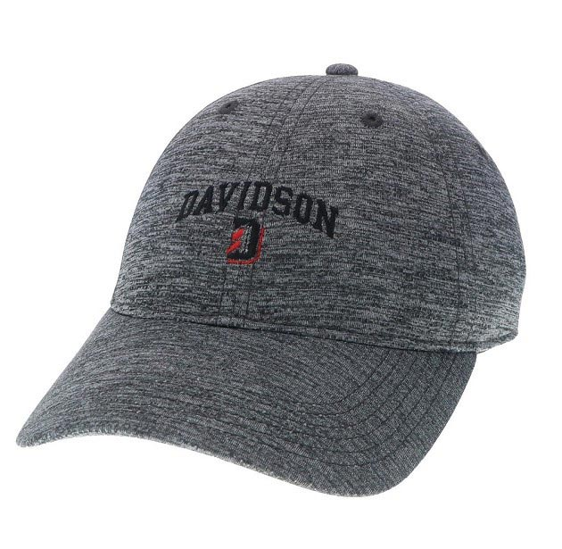Image For Hat Athletic -Grey- Davidson Over D