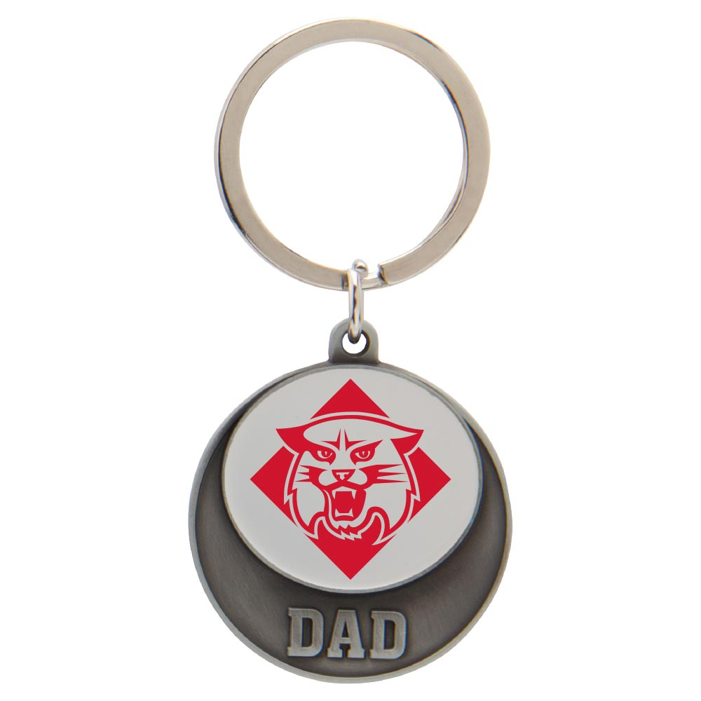 Image For Keytag - Dad - Wildcat Logo
