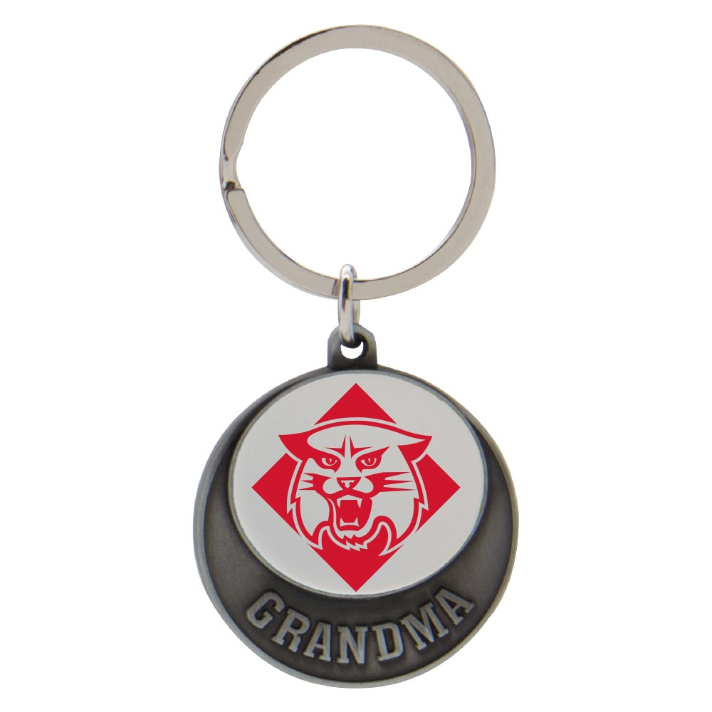 Image For Keytag - Grandma - Wildcat Logo