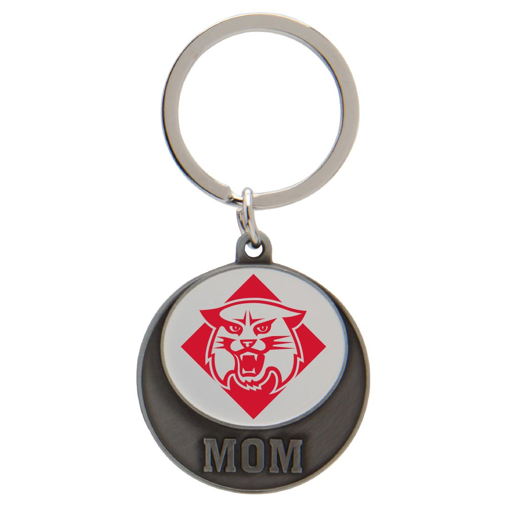 Image For Keytag - Mom - Wildcat Logo