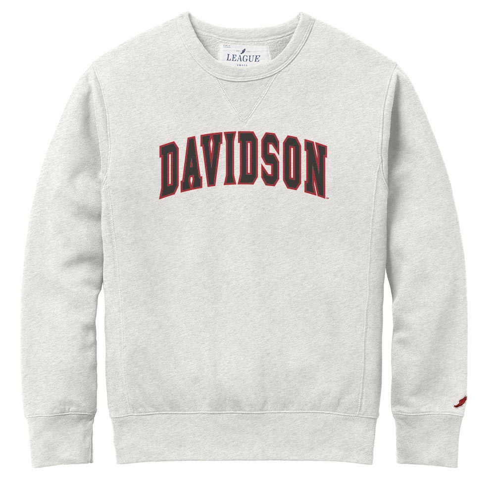 Image For Sweatshirt Crew - Oatmeal - Davidson Applique