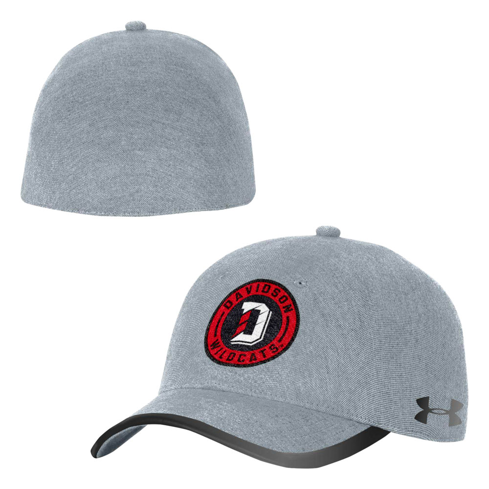 Image For Hat threadborne flash stretch fit steel davidson patch logo