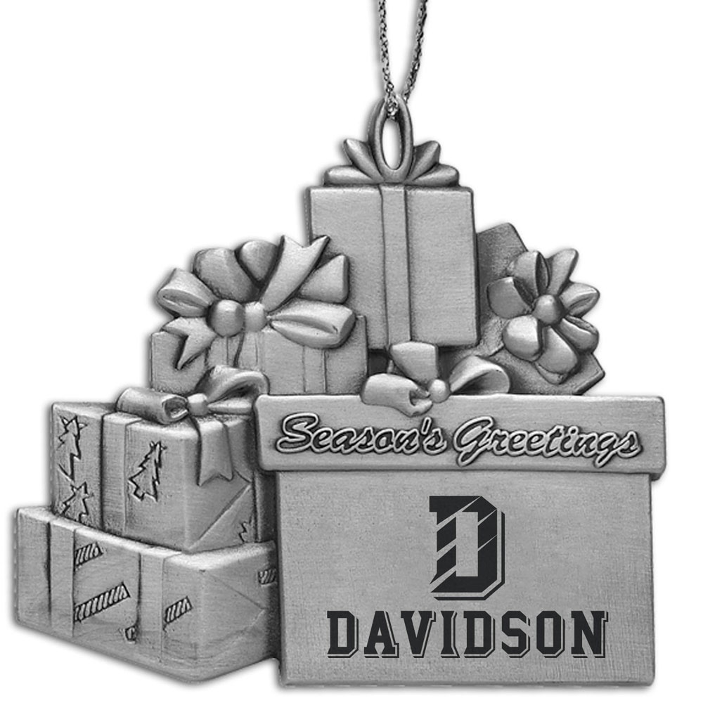 Cover Image For ORNAMENT PEWTER - D Over Davidson logo