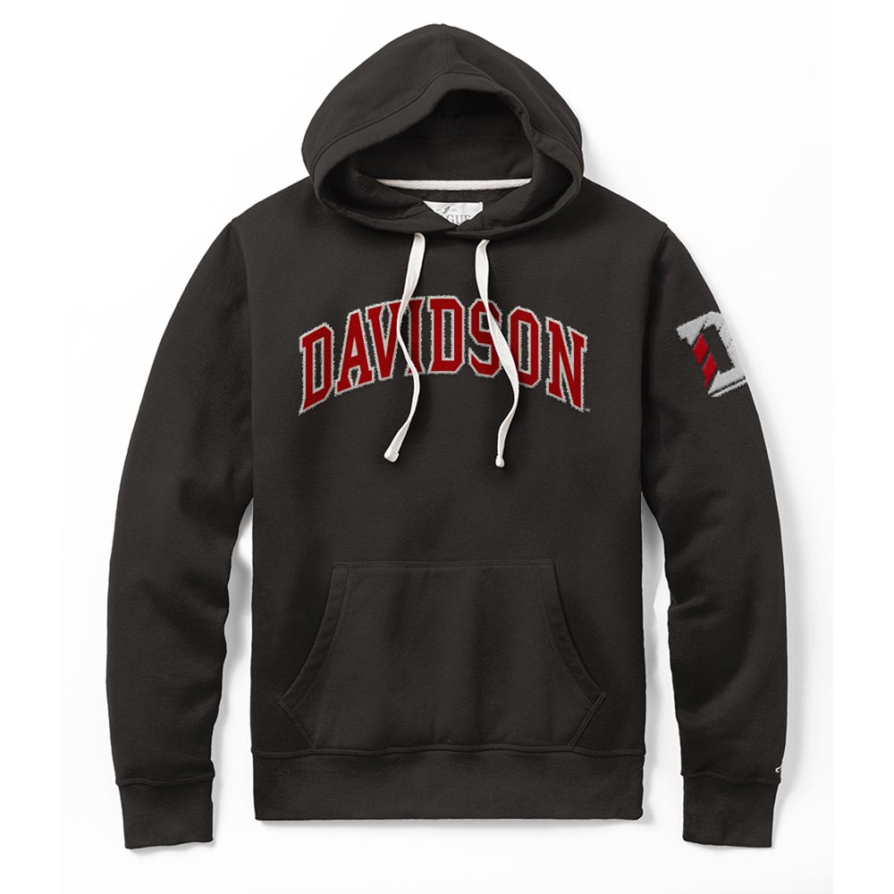 Image For Sweatshirt Hood - Black - Davidson Applique