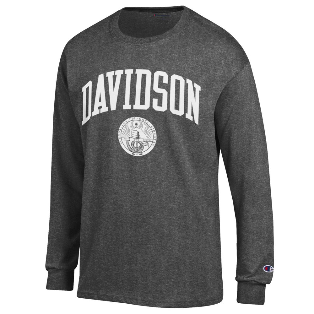 Image For Long Sleeve T-Shirt Oxford-Davidson College Over Seal