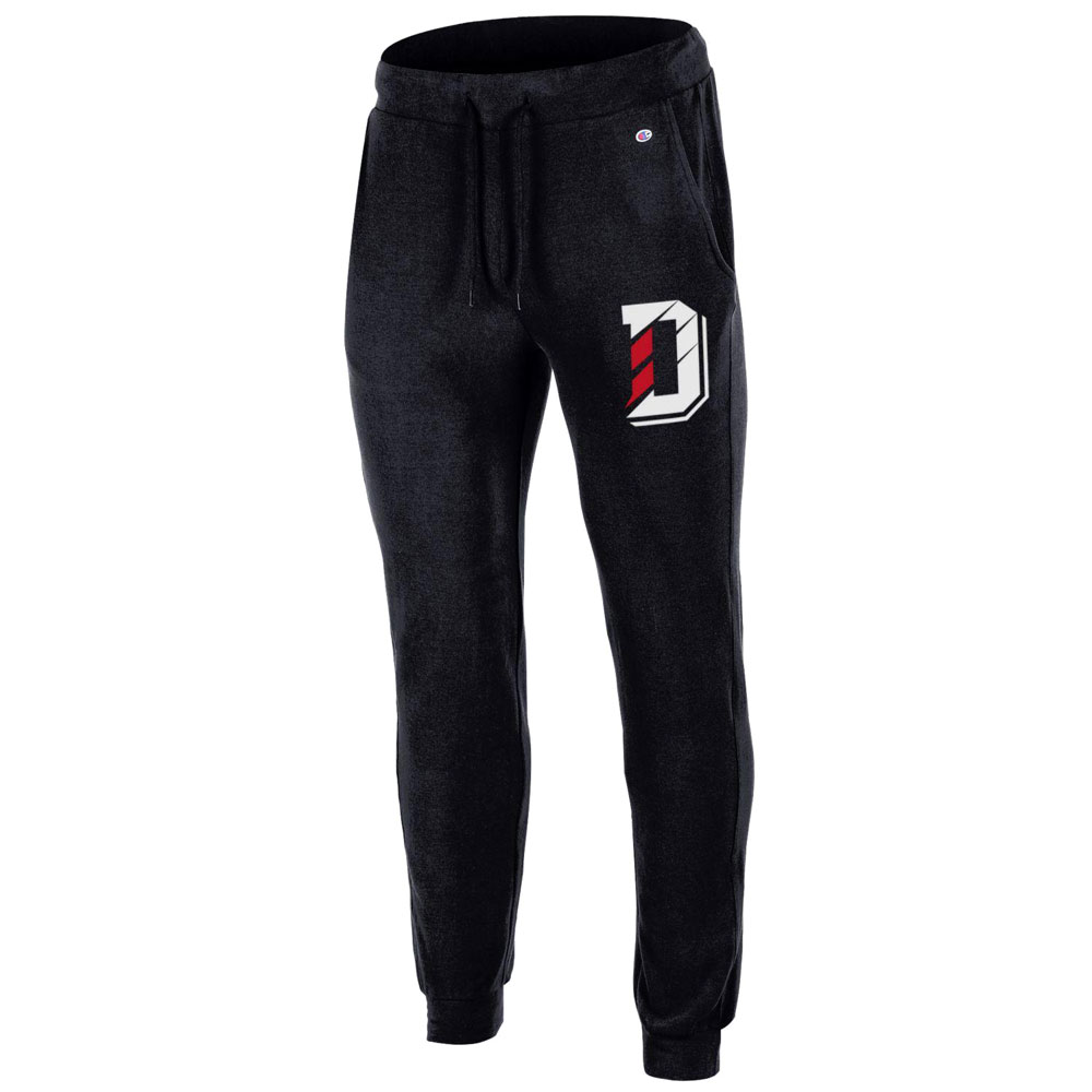 3b51b5cc18242 Image For Women's Lounge Pants - Black - D Logo