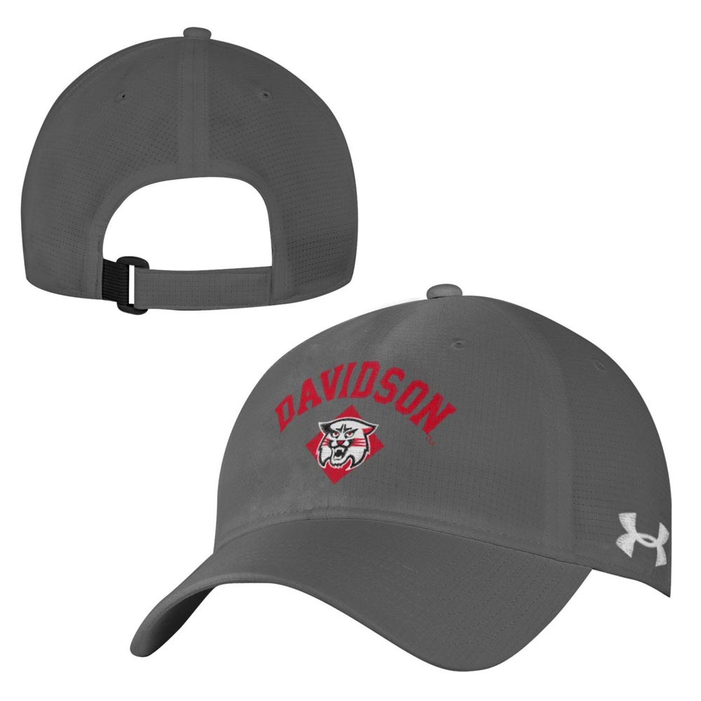 43041a5ba62 Airvent Adjustable Hat - Graphite - Davidson Over Wildcat. Item  Description. 100% Polyester Two way stretch adjustable cap. Under Armour