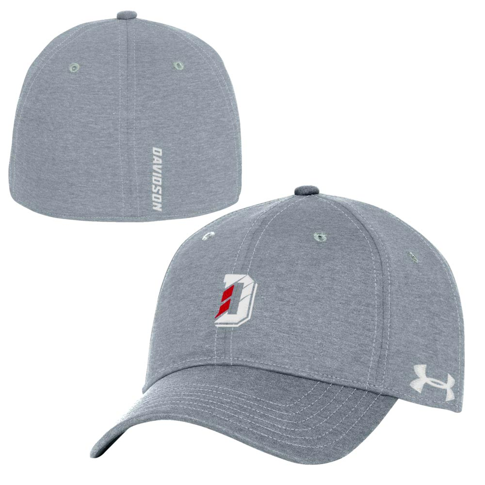 Image For Fitted Structured - Steel Twist Hat - D Logo