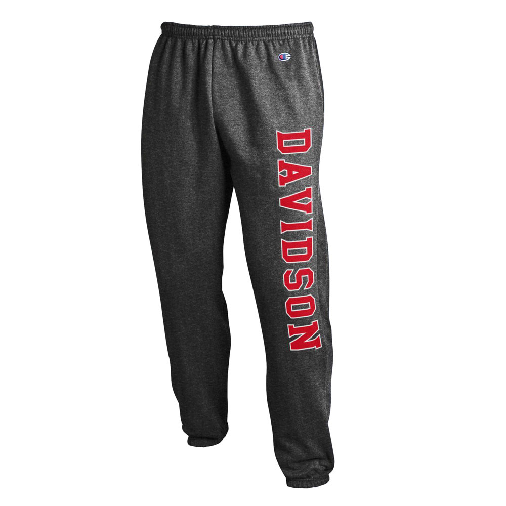 Image For Pants Banded Bottom - Granite Heather - Davidson