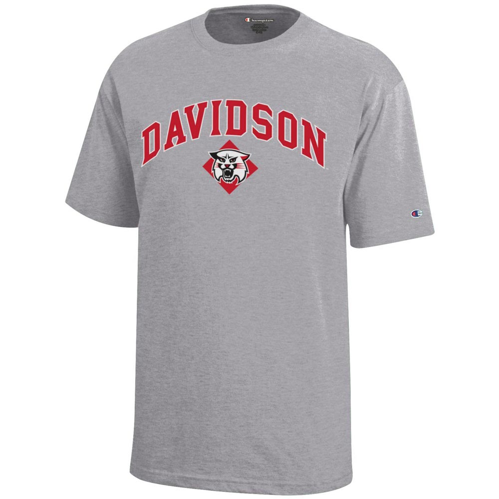Image For Youth T-Shirt - Oxford - Davidson Over Wildcat