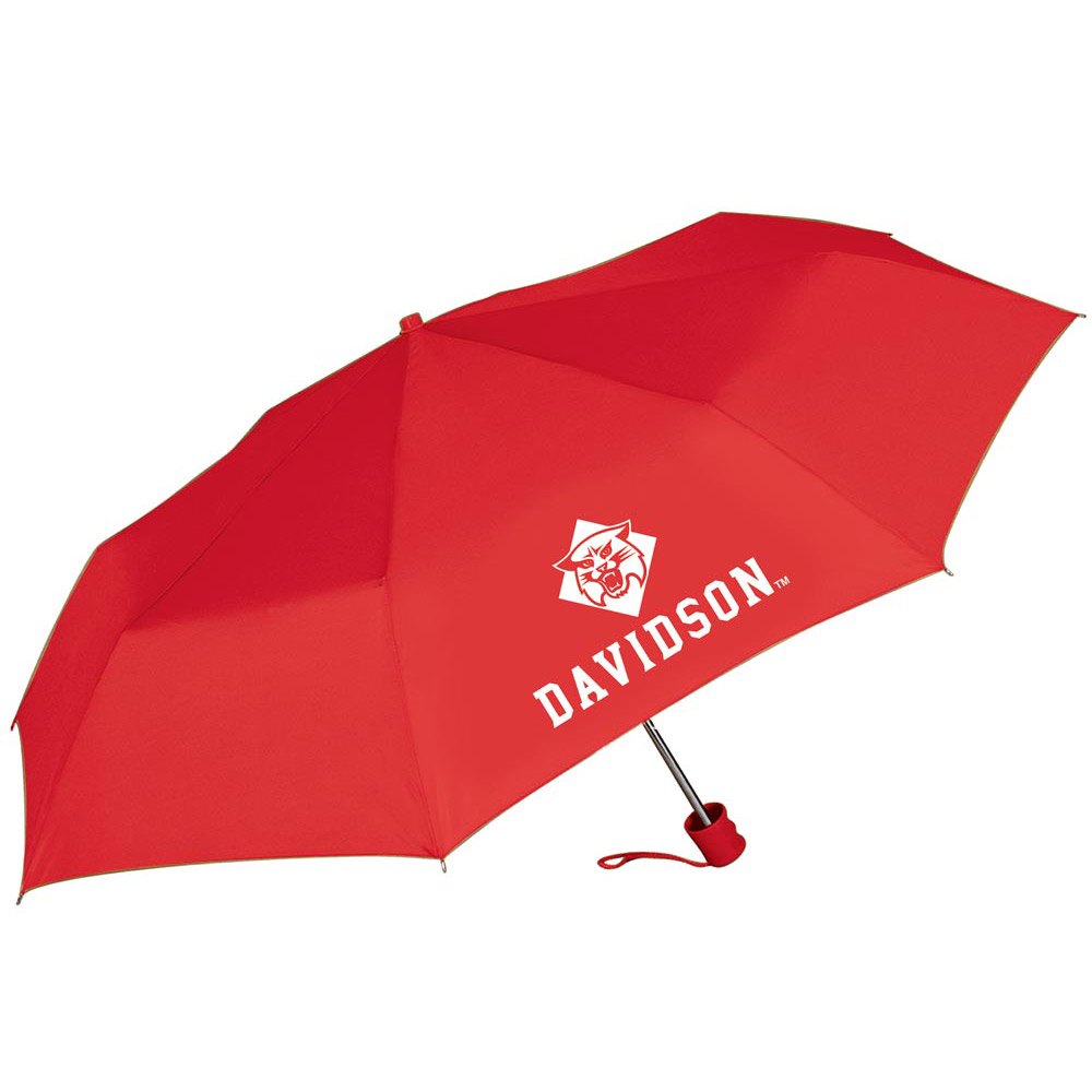 Image For Umbrella Red Super Pocket Mini -Wildcat Over Davidson Log