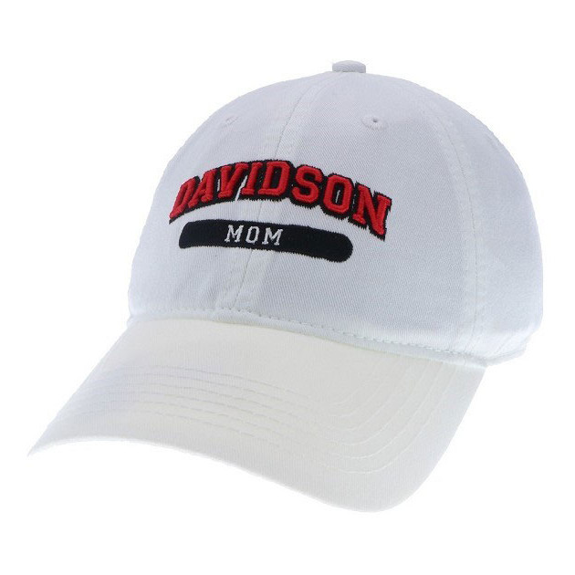 Image For Women's Hat - White - Davidson Mom