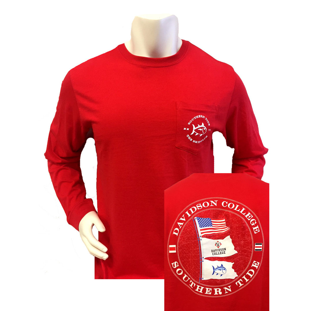 Image For Long Sleeve T Shirt - Red