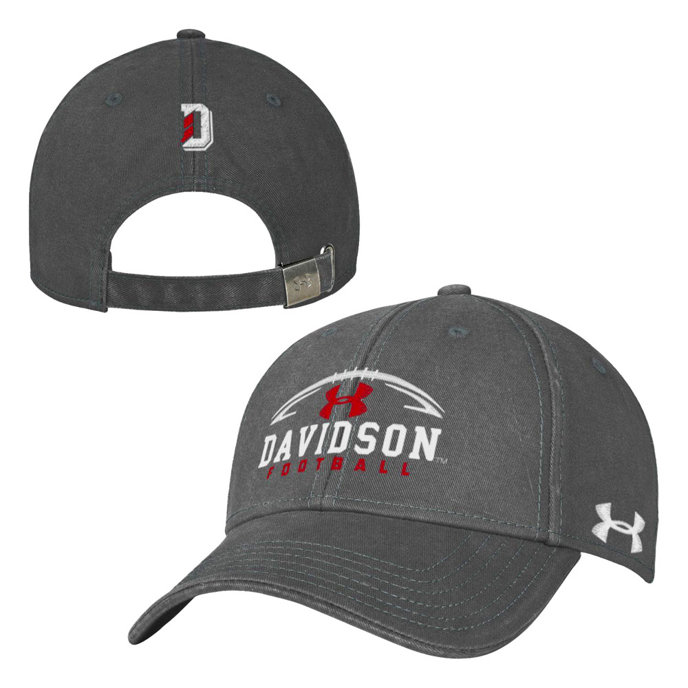 Image For Hat - Graphite - Davidson Football
