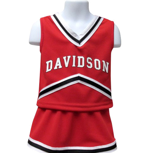 Image For Toddler Cheer Dress - Red