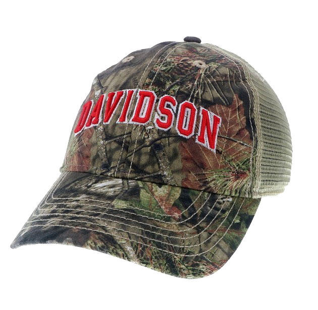 Image For Hat Mesh Trucker Camo Davidson Arched