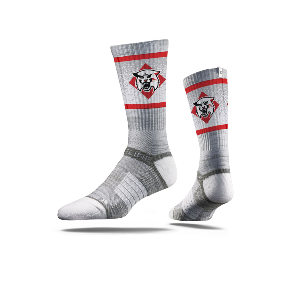Image For socks - gray - Wildcat Logo