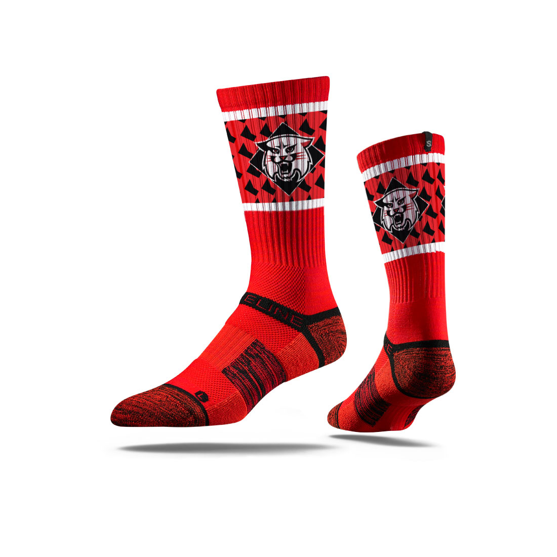 Image For Socks - Red - Wildcat Logo