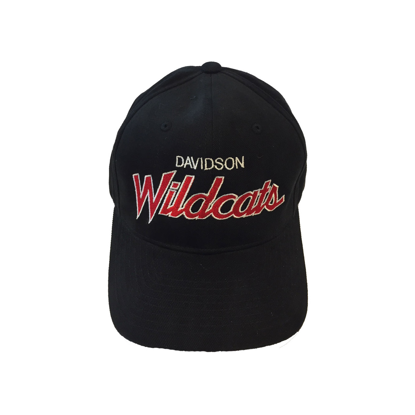 Image For Hat - Black - Davidson Over Wildcats