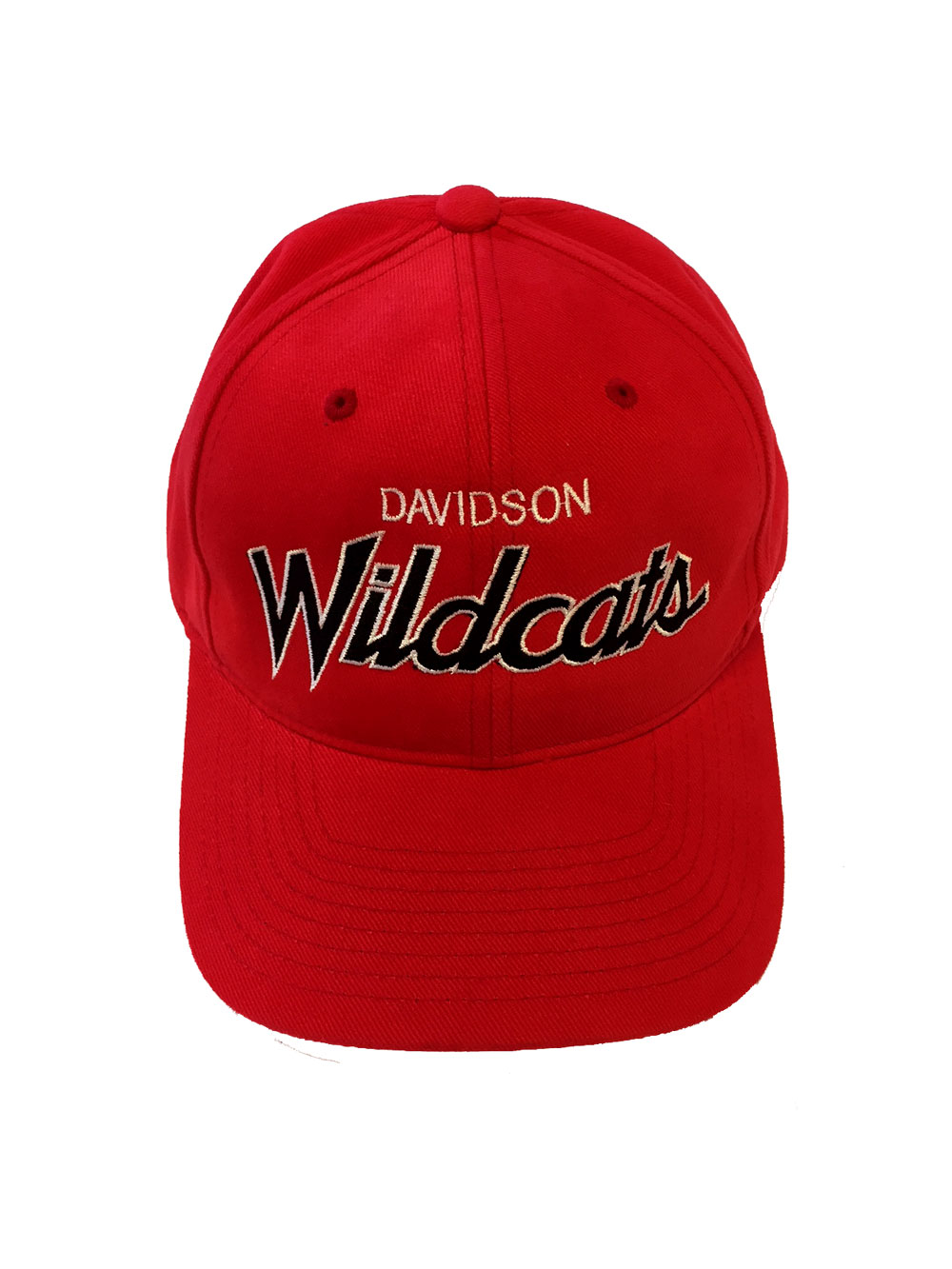 Image For Hat - Red - Davidson Over Wildcats