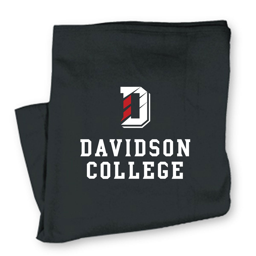 Cover Image For Blanket Sweatshirt - Charcoal - D Over Davidson College