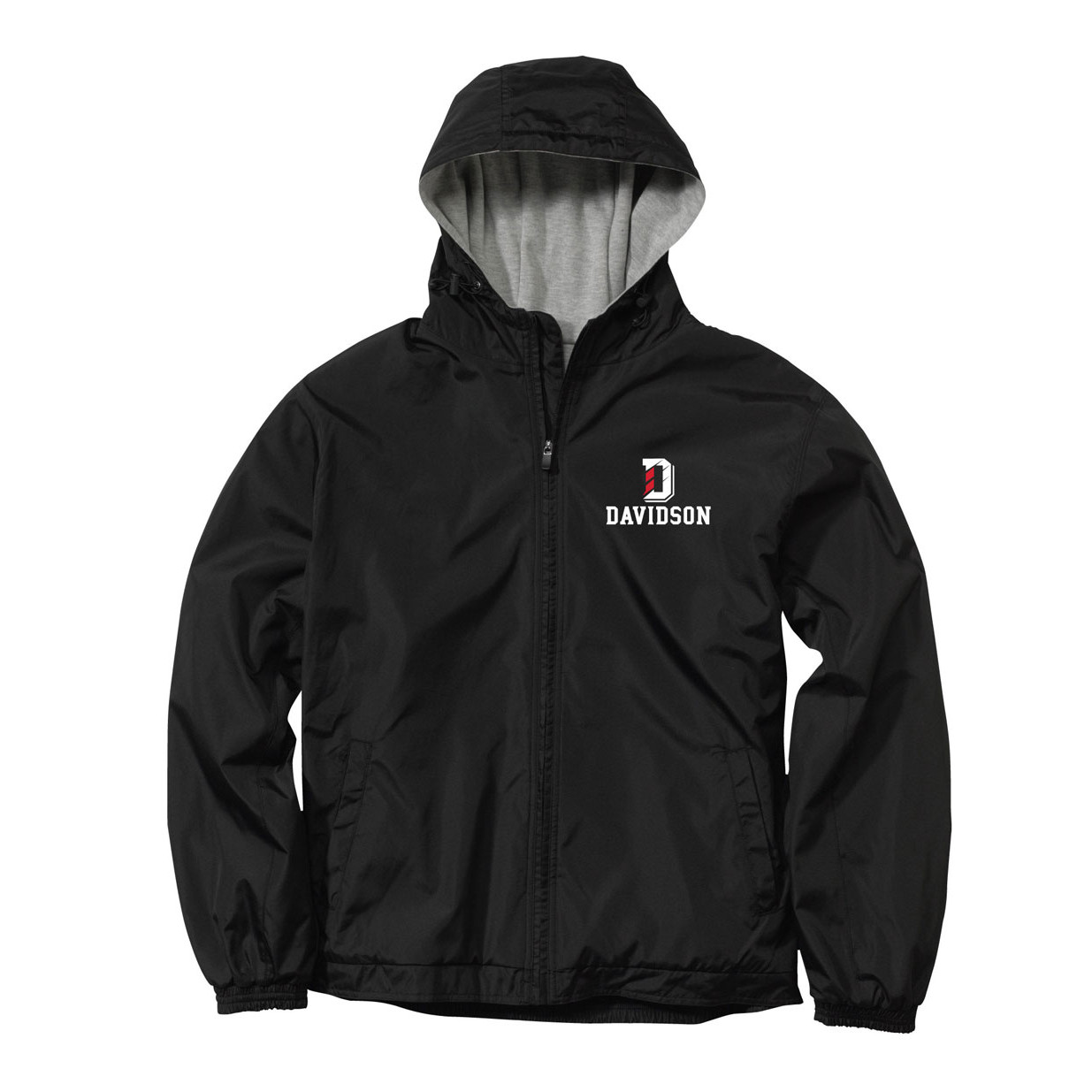 Image For Jacket Full Zip Liberty - Black - D Over Davidson