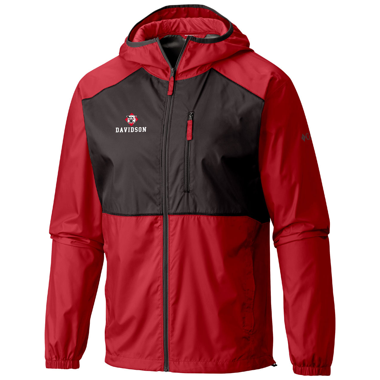 Image For Jacket Full Zip - Red - Wildcat Over Davidson